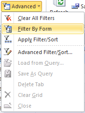 Access Objects: Sort & Filter | Basics | Jan's Working with Databases