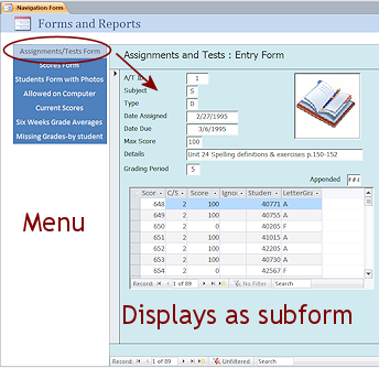 Special Types: Switchboard/Navigation | Forms & Reports | Jan's ...