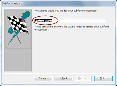 how to create a subform in access 2010