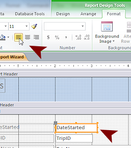 Access Objects: Create Report | Basics | Jan's Working with