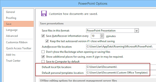 Templates themes save as template format jans working with dialog options save custom templates powerpoint 2013 toneelgroepblik Image collections