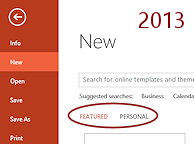 Templates themes save as template format jans working with link to personal templates in new dialog powerpoint 2013 toneelgroepblik Image collections
