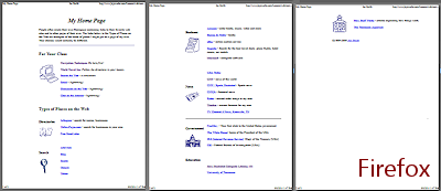 Print | Browser Basics | Jan's Working with the Web