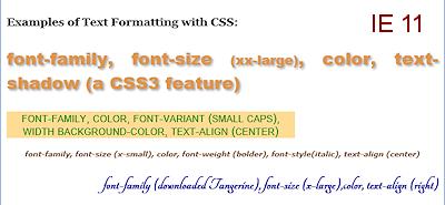 Formatting: Format Text | HTML & CSS Basics | Jan's Working