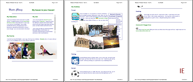 Format for Print: @media, @page | HTML & CSS Basics | Jan's Working